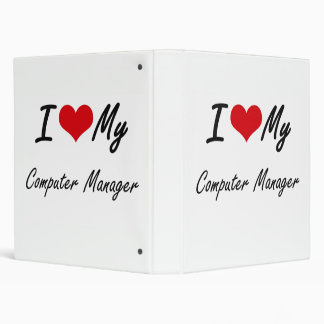 I love my Computer Manager Vinyl Binders
