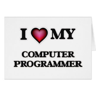 I love my Computer Programmer Card