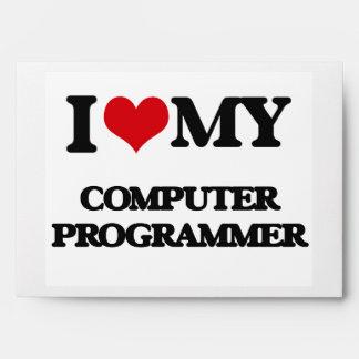 I love my Computer Programmer Envelopes