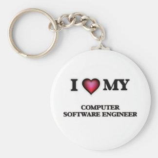 I love my Computer Software Engineer Keychain