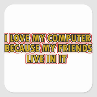 I love my Computer Stickers