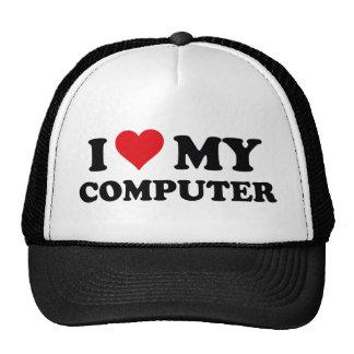 I Love My Computer Trucker Hat