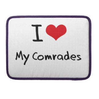 I love My Comrades MacBook Pro Sleeves