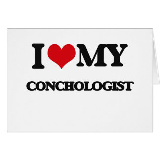 I love my Conchologist Cards