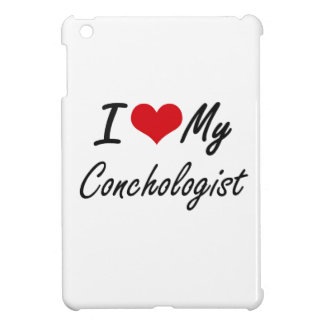 I love my Conchologist iPad Mini Cover