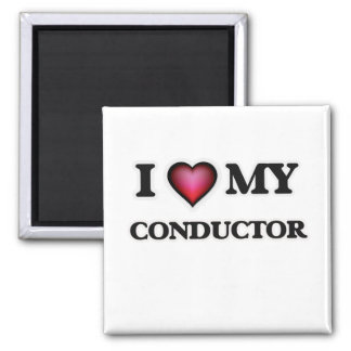I love my Conductor 2 Inch Square Magnet