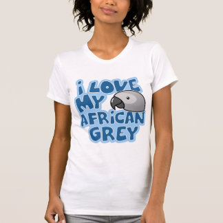 I Love My Congo African Grey T-Shirt