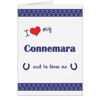 I Love My Connemara (Male Pony) Card