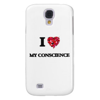 I love My Conscience Samsung Galaxy S4 Covers