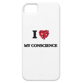 I love My Conscience iPhone 5 Cases