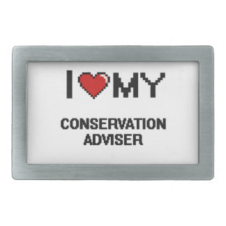 I love my Conservation Adviser Belt Buckles