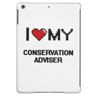 I love my Conservation Adviser iPad Air Covers