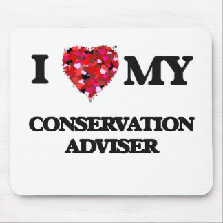 I love my Conservation Adviser Mouse Pad