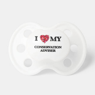 I love my Conservation Adviser BooginHead Pacifier