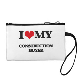 I love my Construction Buyer Coin Purse