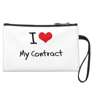 I love My Contract Wristlets