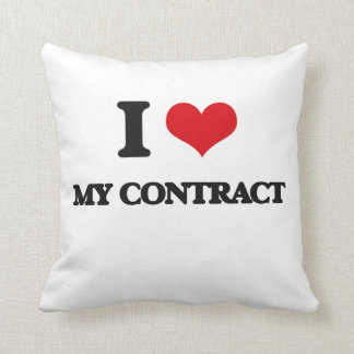 I love My Contract Pillow