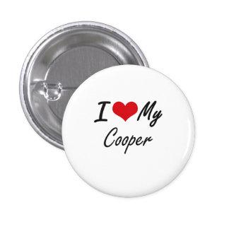 I love my Cooper 1 Inch Round Button