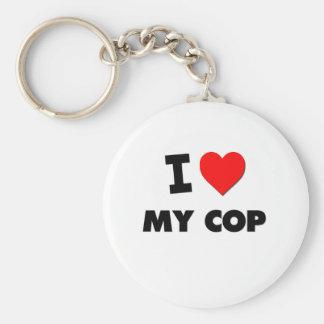 I love My Cop Key Chain