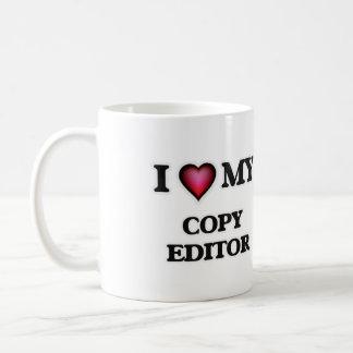 I love my Copy Editor Coffee Mug