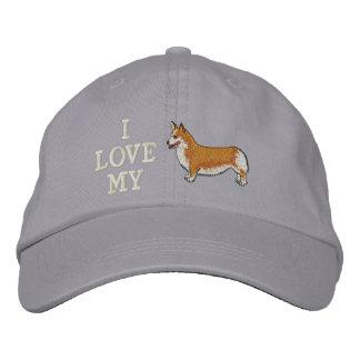 I Love my Corgi Embroidered Hat