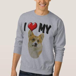 I Love My Corgi Pullover Sweatshirt