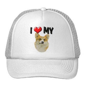 I Love My Corgi Trucker Hat
