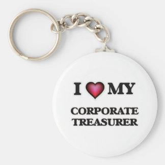 I love my Corporate Treasurer Keychain