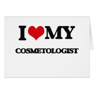 I love my Cosmetologist Card