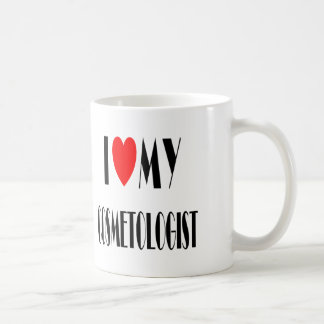 I love my Cosmotologist Classic White Coffee Mug
