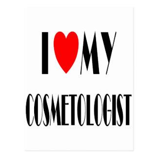I love my Cosmotologist Postcard