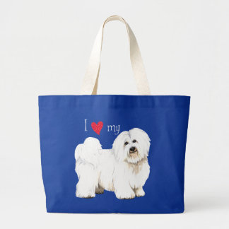 I Love my Coton de Tulear Tote Bags