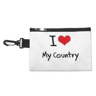 I love My Country Accessories Bags