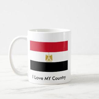 I Love MY Country Egypt Flag The MUSEUM Zazzle Classic White Coffee Mug