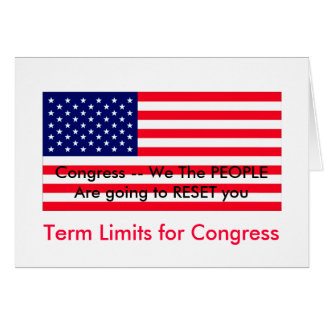 Term limits for congress unconstitutional