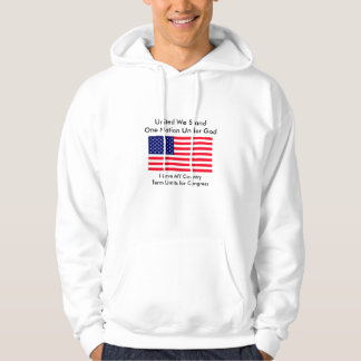 I Love MY Country Term Limits for Congress Hoodie