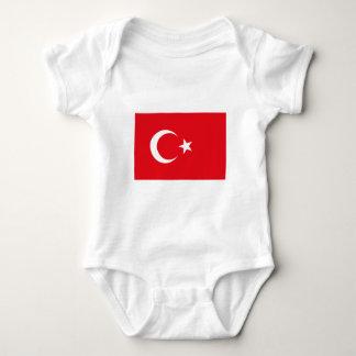I Love MY Country Turkey Flag The MUSEUM Zazzle Baby Bodysuit