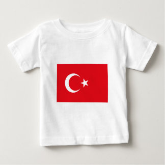 I Love MY Country Turkey Flag The MUSEUM Zazzle Baby T-Shirt