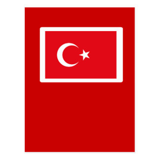 I Love MY Country Turkey Flag The MUSEUM Zazzle Postcard