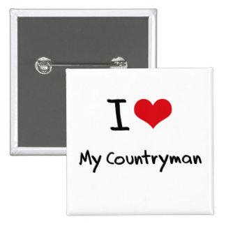 I love My Countryman Button
