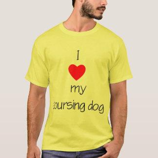 I Love My Coursing Dog T-Shirt