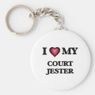 I love my Court Jester Keychain