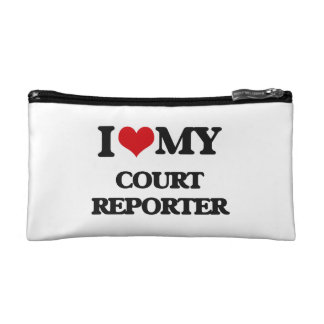 I love my Court Reporter Cosmetic Bag
