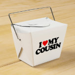 I LOVE MY COUSIN FAVOR BOXES