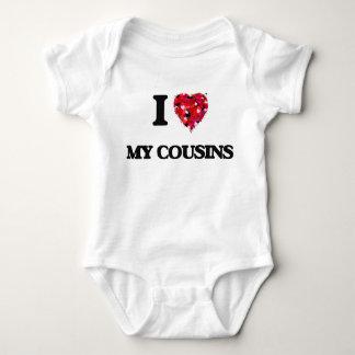 I love My Cousins Baby Bodysuit