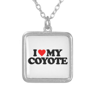 I LOVE MY COYOTE NECKLACES