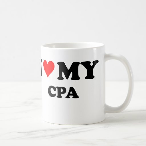 I Love My Cpa Coffee Mug