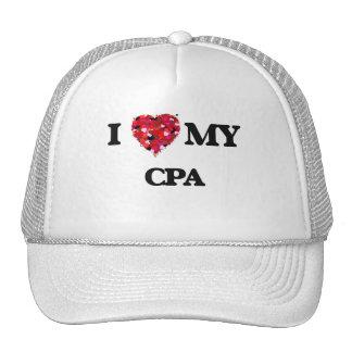I love my Cpa Trucker Hat