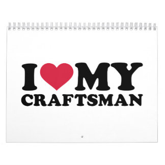 I love my Craftsman Calendar