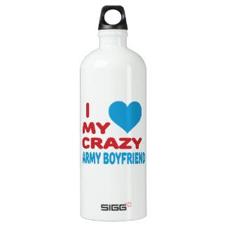 I Love My Crazy Army Boyfriend. SIGG Traveler 1.0L Water Bottle